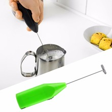 Electric Mini Beating Egg Coffee Mixer Foam Kitchen Tool Milk Drink Mixer Stirrer Home Appliances Stainless Steel Food Mixer food mixer philips hr3745 00 hr 3745 electric kitchen planetary with bowl stand household appliances for kitchen