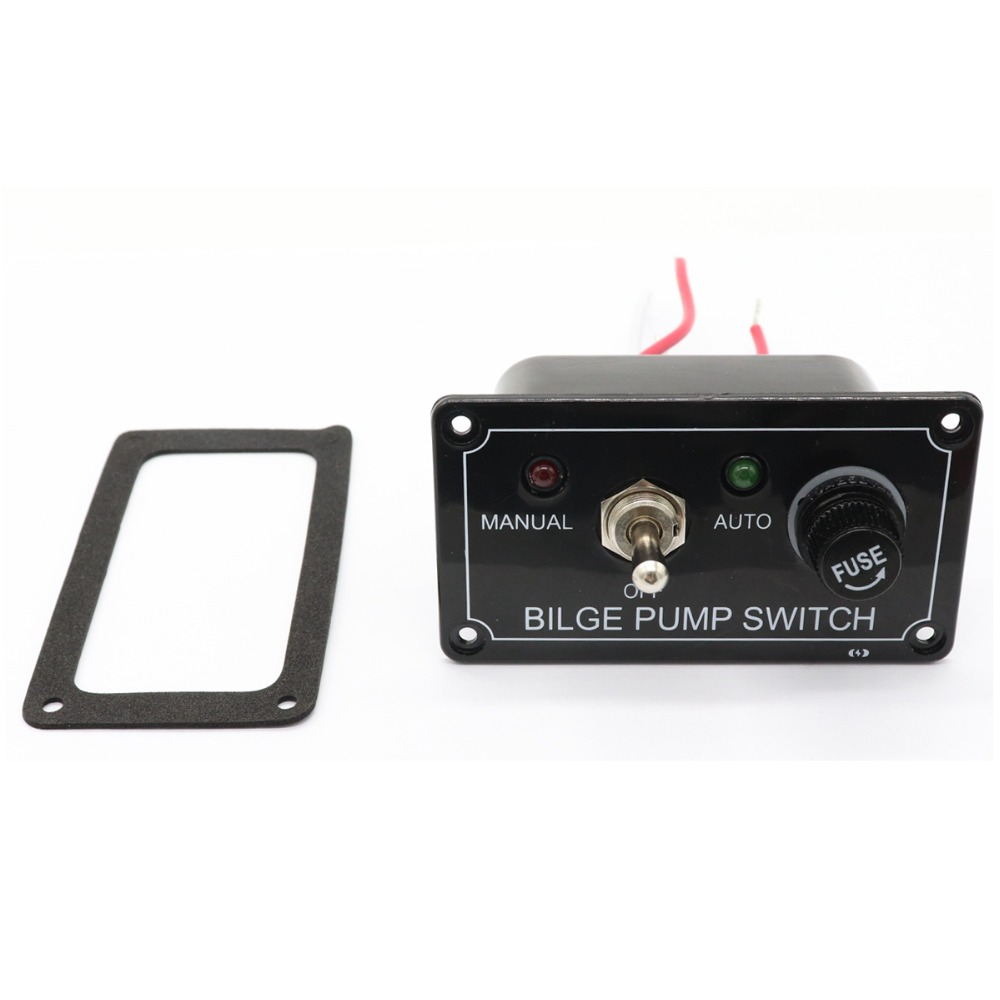 3 Way Car Switch Panel 12v Fused Marine Bilge Pump With Led For Indicator Light In Switches Relays From