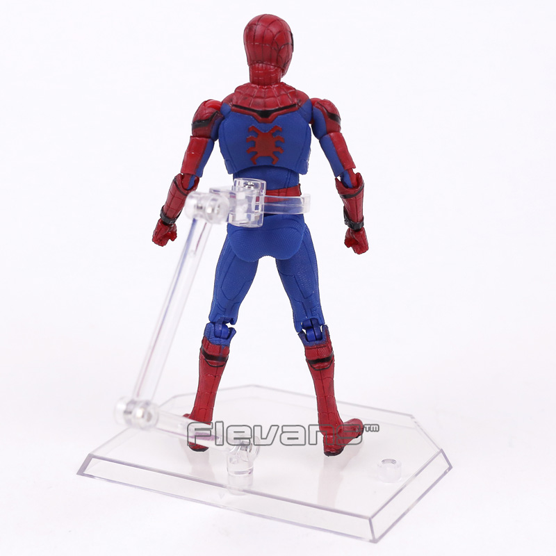 Image 4 - Mafex 047 Spider Man Homecoming Spiderman PVC Action Figure Collectible Model Toy 14cmmodel toyfigures collectiblespvc action figure -