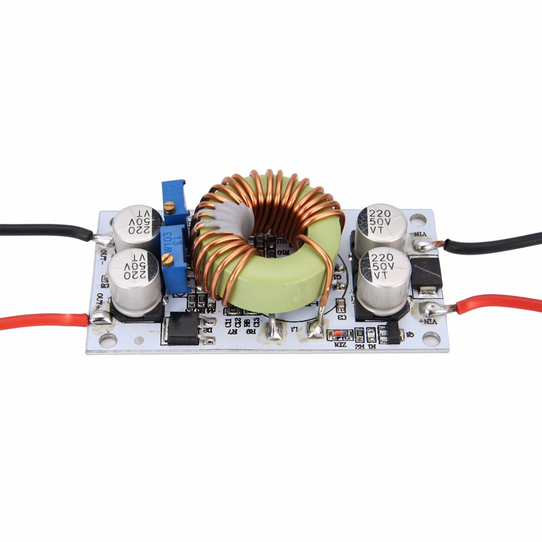 Stable DC DC Step-up Boost Converter Adjustable Voltage Constant Current Power Supplies 250W LED Driver 70 * 36 * 13mm Mayitr ...