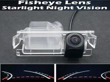 1080P Fisheye Trajectory Tracks Car Rear view Camera for Kia K2 Rio Sedan Hatchback Ceed 2013 Hyundai Accent Solaris Verna 2014 цена 2017
