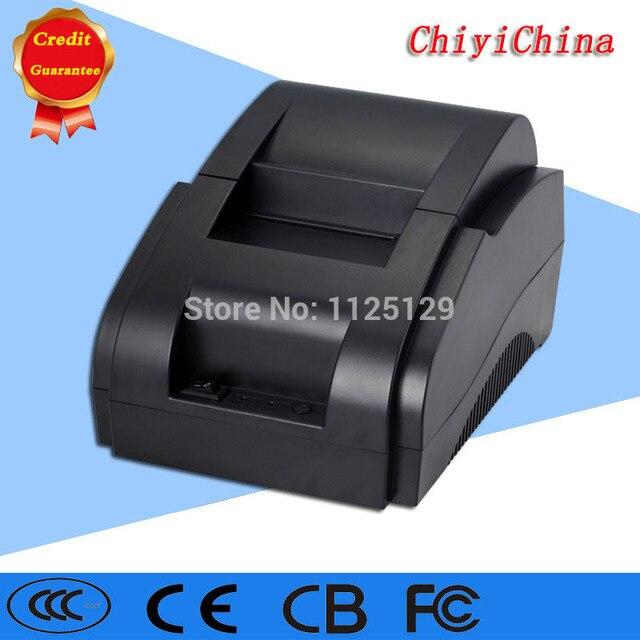 USB интерфейс 58 мм пос чековый принтер термопечати с блоком питания встроенный бесплатная доставка