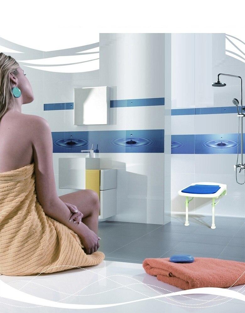 Ванная комната стул беременным женщинам принимать ванну складной табурет бесплатная доставка PE сиденье оранжевый синий зеленый цвет