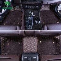 Top Quality 3D Car Floor Mat For Honda CRV Foot Mat Car Foot Pad With One