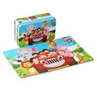 30 см детские игрушки Деревянные Монтессори головоломки/рукой захватите доска набор образовательных деревянная игрушка мультфильм автомоб