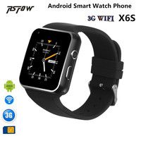 RsFow 3G Bluetooth Smart Watch X6S With WiFi SIM Card Camera Video Sport Passometer Play Store