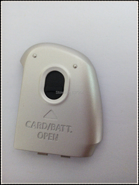 new original black silver battery cover With iron and buttons for canon Sx130 battery snap camera parts Free shipping