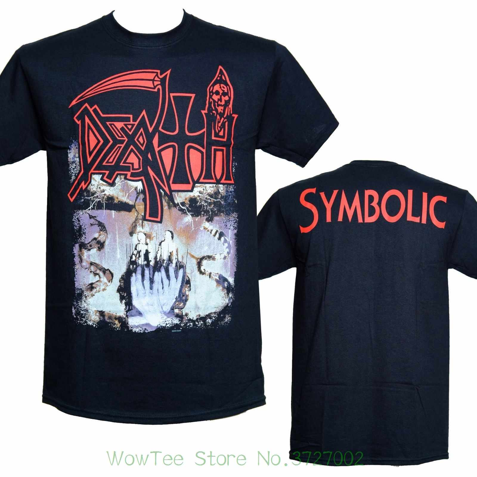 241c1f535 Death Band - Symbolic - Official Licensed T-shirt - Death Metal - New S M L