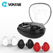 VONTAR I8S TWS Tactile Mini Sans Fil Écouteurs Jumeaux Écouteurs Bluetooth Casque Avec Batterie Cas Mains Libres Casques