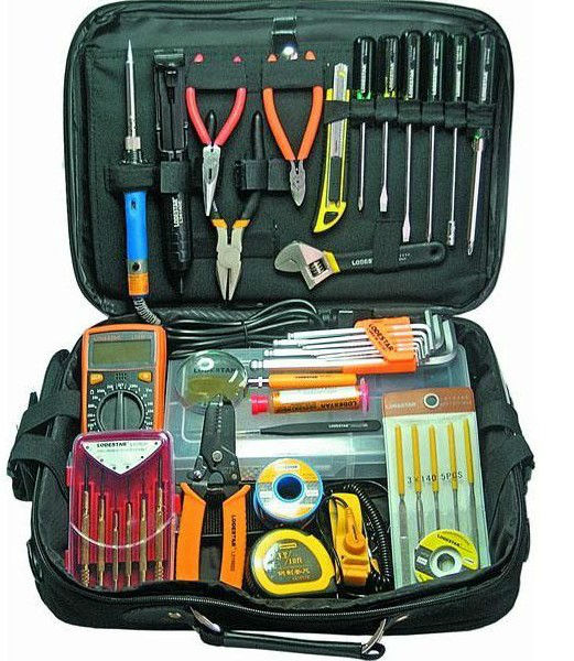 Kit d'outils de réparation électrique fonctionnel pour offre spéciale L813227 pince combinée tournevis livraison gratuite