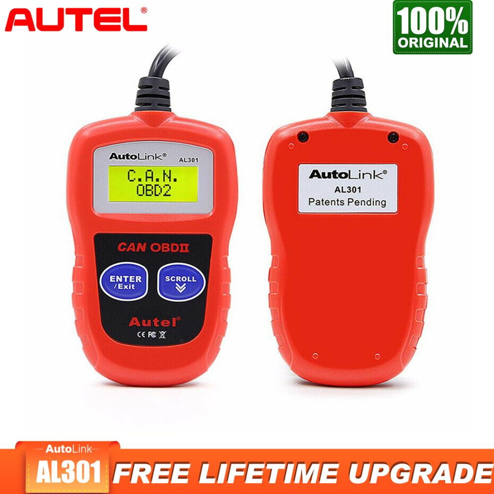 Autel Autolink AL301 Obd2 Scanner Diagnostic Tool Car diagnostic Batter than elm327 launch x431 Scaner Automotivo