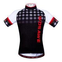 サイクリング服夏通気性半袖サイクリングジャージマイヨサイクリングツールドフランス自転車/自転車シャツトップ男性女