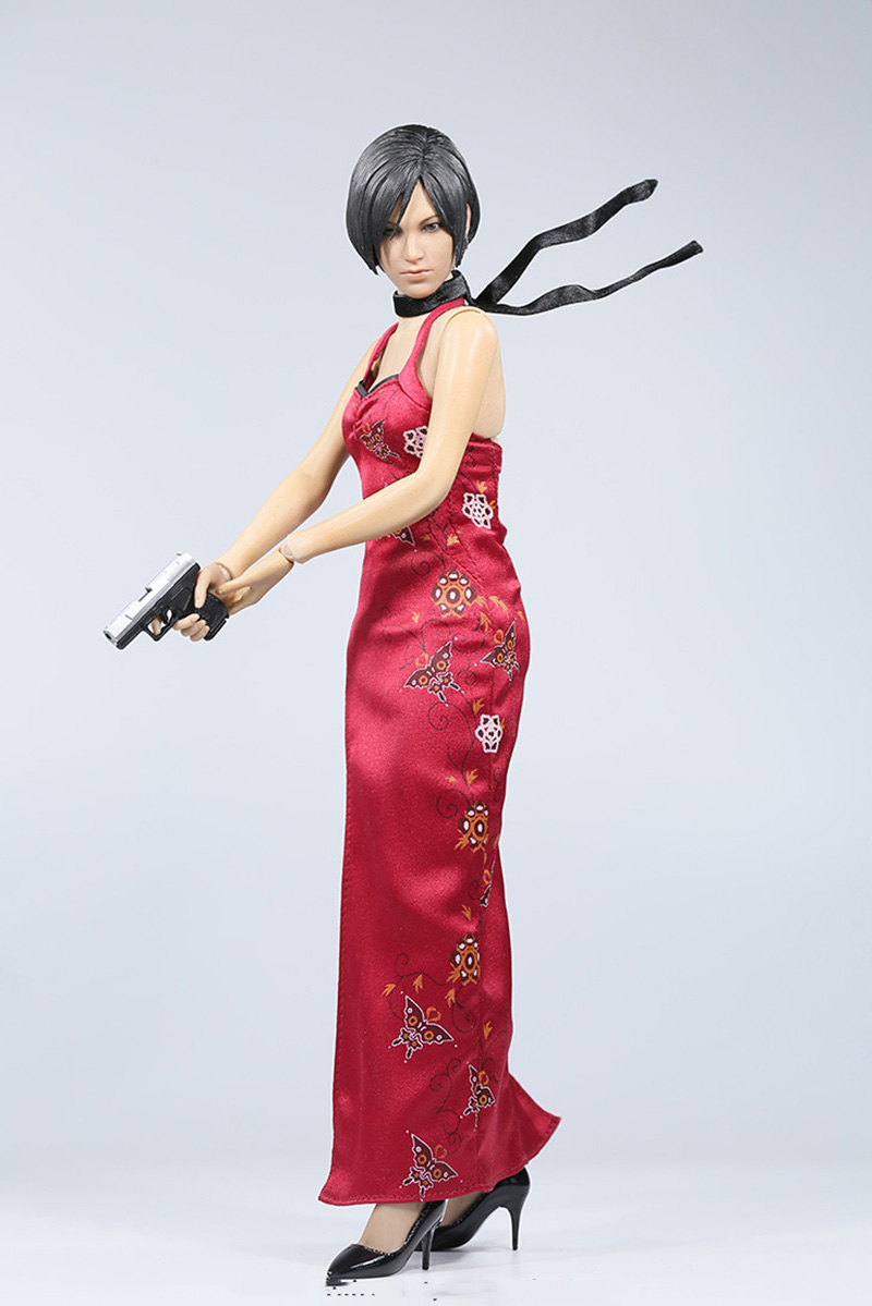 1/6 Scale Resident Evil 4 Ada Wong 12 Action figure Colletible Model Toy Body Head Clothesand Accessories