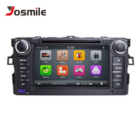 Autoradio 2 Din Car DVD Player For Toyota AURIS Toyota Corolla Altis 2012 2013 Tape Recorder Multimedia GPS Stereo Navigation 3G
