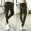 Militar de Impresión Hip Hop Sweat Pants Pantalones Harem Danza Baggy Trousers pantalones Hombre Pantalones Hombre Pantalones Pantalones Joggers Basculador