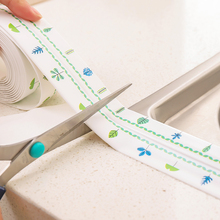 Self  Adhesive Sink Stickers Waterproof Anti-moisture PVC Sticker Kitchen Bathroom Wall Corner Line  Mildew tape Corner sticker