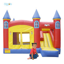 Wholesale Price Durable PVC Inflatable Bouncy Castle With Slide For Rental