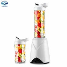 Portable Mini Electric Juicer Small-Scale Domestic Fruit Juice Processor Student Extractor Blender Smoothie Maker 2 Cups