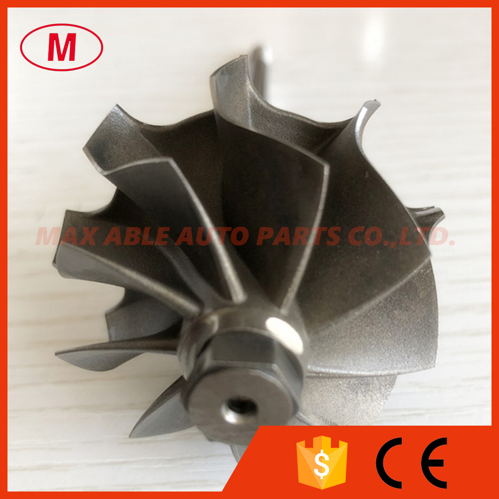 TD04L 41 2 47 2mm 9 blades turbo wheel turbine shaft wheel