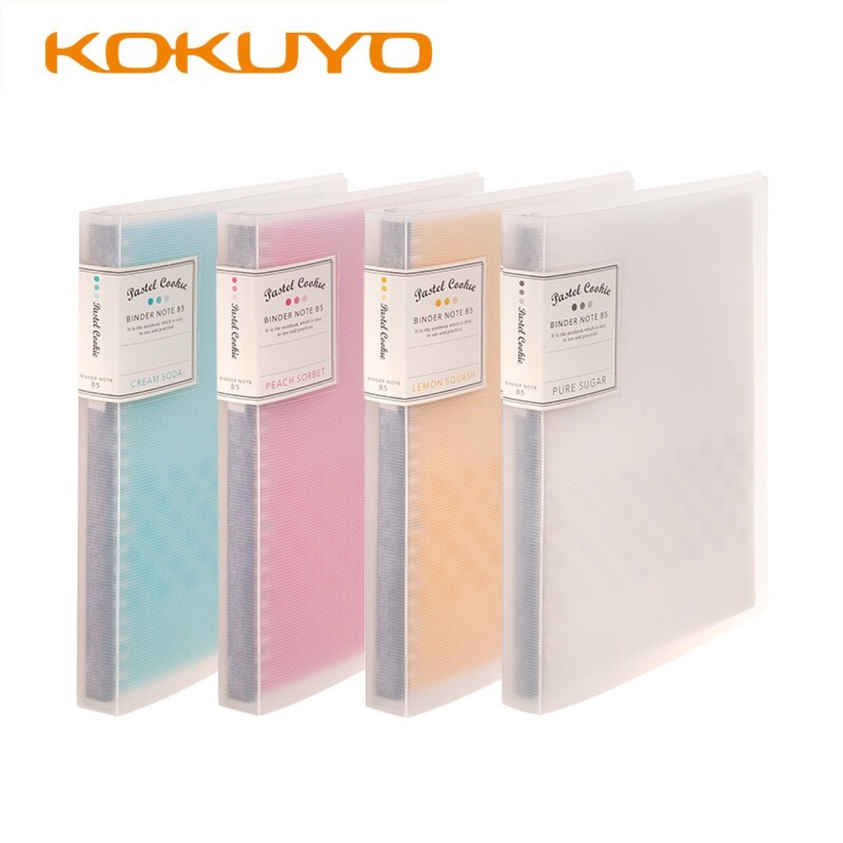 KOKUYO A5 <font><b>B5</b></font> Removable Loose Leaf <font><b>Notebook</b></font> Refill Spiral Binder Planner Inner Page Inside Paper Dairy Weekly Monthly Plan <font><b>Line</b></font> image