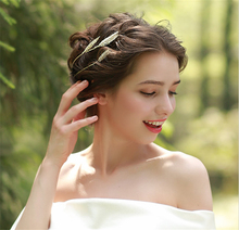 Wheat Spike Tiara Bride Crown Headband Wedding Hair Accessories Hairband Diadem Jewelry Bandeau Bijoux Cheveux Coroa WIGO0856