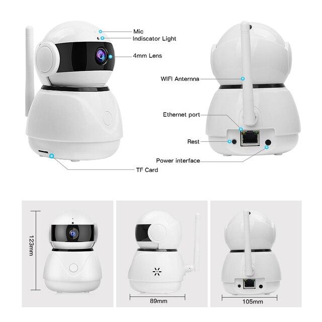 LOOSAFE IP Camera 1080P Wireless WI-FI Home Security Camera Baby Monitor HD  Mini CCTV WIFI Camera Cloud Storage Two Way Audio