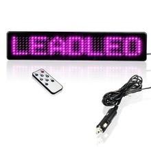 font b LED b font Display Car font b Sign b font Red font b