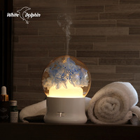 Electric Aromatherapy Ultrasonic Humidifier Essential oil Aroma Diffuser Led Mist Maker Fogger Mini Portable Car Air Humidifier