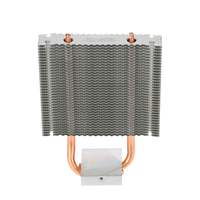 PCCOOLER CPU Cooler HB 802 2 Heatpipes Radiator Aluminum Heatsink Motherboard Northbridge Cooler Cooling Support 80mm
