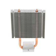 PCCOOLER Процессор охладитель HB-802 2 тепловыми радиатор Алюминий радиатора материнской платы/северного охлаждения Cooler Поддержка 80 мм Процессор вентилятор