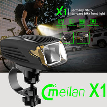 Smart Bicycle Light Bike LED Front Light Waterproof rechargeable CE RHOS FCC Certification German Design Cmeilan X1 Bicycle Acce