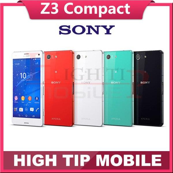 Unlocked Original SONY Xperia Z3 Compact D5803 Quad core 4 6 2GB RAM 16GB ROM Z3
