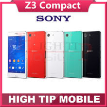 Unlocked Original SONY Xperia Z3 Compact D5803 Quad core 4.6″ 2GB RAM 16GB ROM Z3 mini 20.7MP Android Cell phone Refurbished