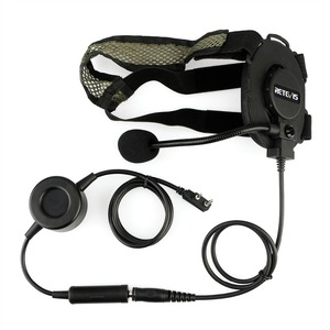 Image 2 - RETEVIS EH060K Tactical Headset Military Wakie Talkie Headset Airsoft Game Microphone For Kenwood ForBaofeng UV 5R/UV82 RT1/RT81