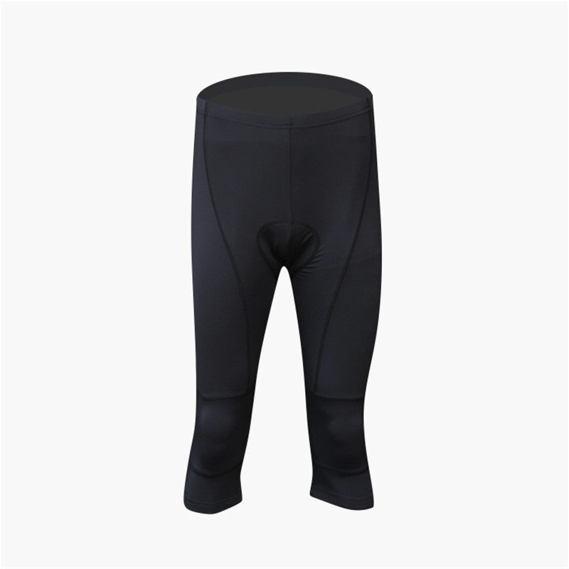 2017 Unisex 3/4 Cycling Shotrs Breathable Thin Cool Summer Outdoor Sport Shorts Knees Padding Cycling Short REALTOO22