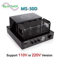 Nobsound MS 30D MKII Bluetooth amplifier tube Amplifier support 110V 220V amplifier MS 10D MKII upgrade amplificador