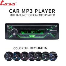 LaBo Car Radio Stereo Player Bluetooth Phone AUX IN MP3 FM/USB/1 Din/remote control 12V Car Audio Auto 2018 Sale New