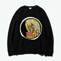 Iron Maiden Fear Of The Dark Metal Rock Fashion Thick Hoodies Sweatshirts