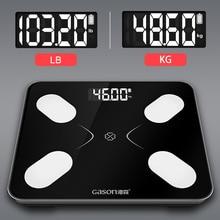S3 waga do pomiaru tkanki tłuszczowej podłoga naukowa inteligentny elektroniczny LCD waga cyfrowa łazienka bilans Bluetooth APP Android lub IOS