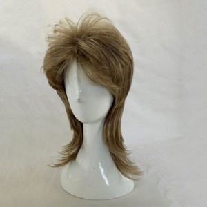 Image 3 - HAIRJOY Male Wig Layered Curly Hair Medium Length High Temperature Fiber Synthetic Man Cosplay Wigs 7 Colors Available