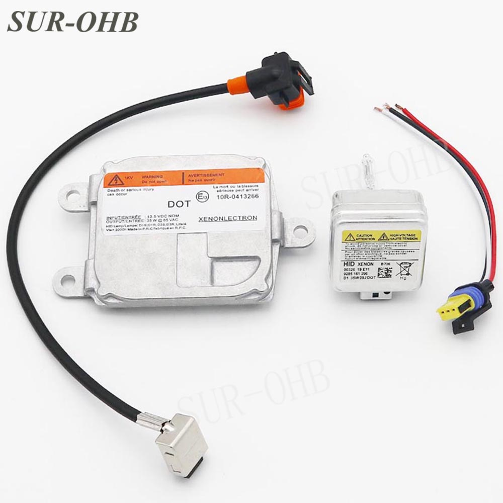 NEW CHEVY LINCOLN DODGE FORD HEADLIGHT BALLAST IGNITER BULB WIRING HARNESS