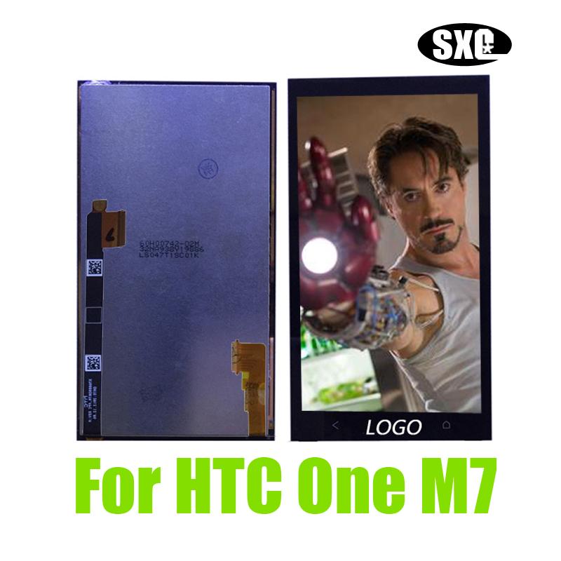 Prix pour Lcd d'origine pour htc one m7 meilleure qualité lcd full affichage avec écran tactile digitizer assemblée remplacement un m7