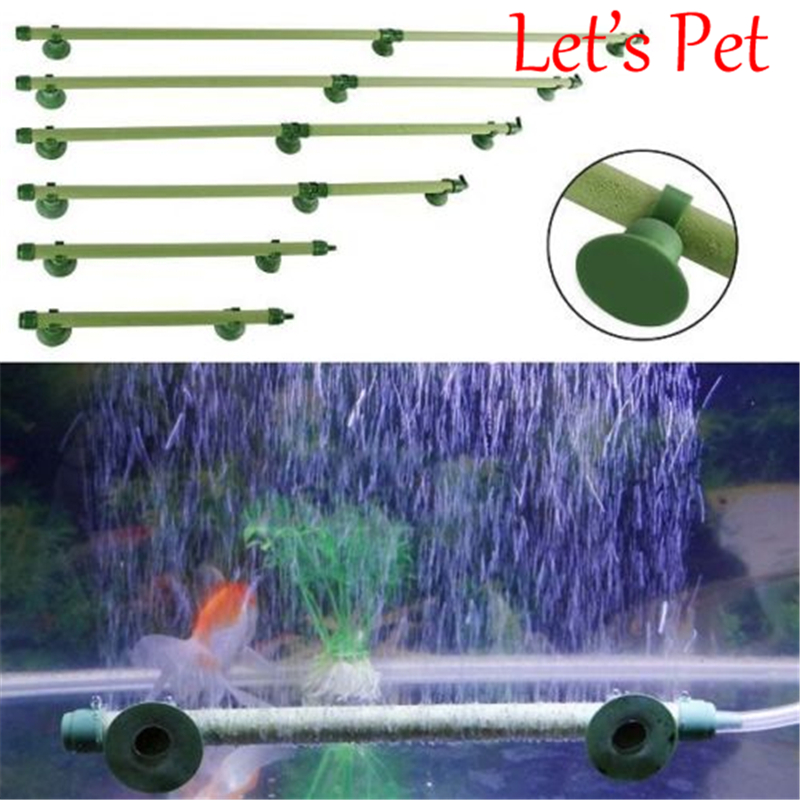 New Fish Tank Aquarium Air Stone Bubble Wall Tube Aquarium Fish Filter Accessories Filter Pet ...