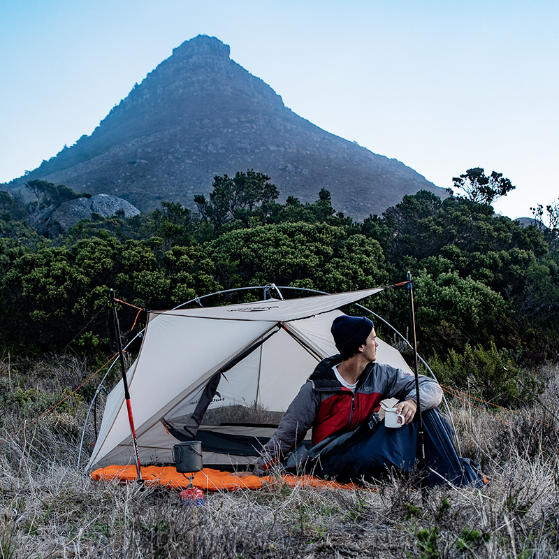 Naturehike VIK Series 970g Ultralight Single Tent 15D Nylon Waterproof Camping Tent Single layer Outdoor Hiking