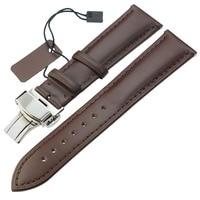zlimsn пояса из натуральной кожи ремешок для часов для мужчин в женщин смотреть браслет чёрный; коричневый заменить мужчин Т 18 20 22 24 мм