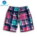 Gailang Marca Hombres Shorts Beach Beach Shorts Junta de secado rápido Desgaste de Los Hombres traje de Baño Trajes de Baño Bañadores Trunks Pantalones Cortos Para Hombre casual