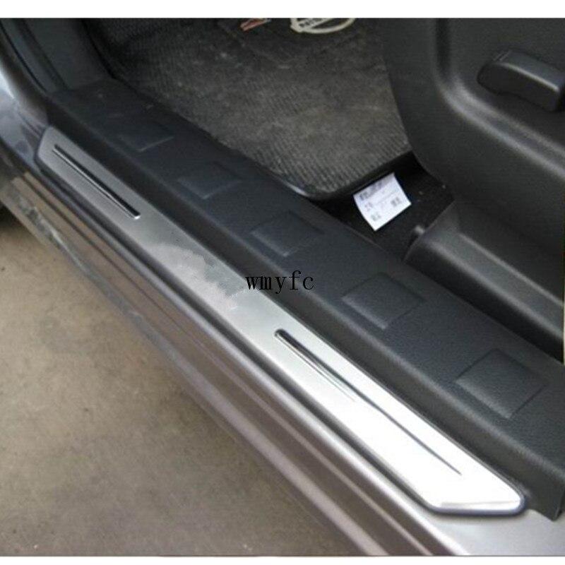 ACCESSOIRES FIT POUR NISSAN X-TRAIL XTRAIL T31 Porte D'usure Sill Plaques Coup L'entrée Étape Trim Plaque 2008-2013 2012 2011