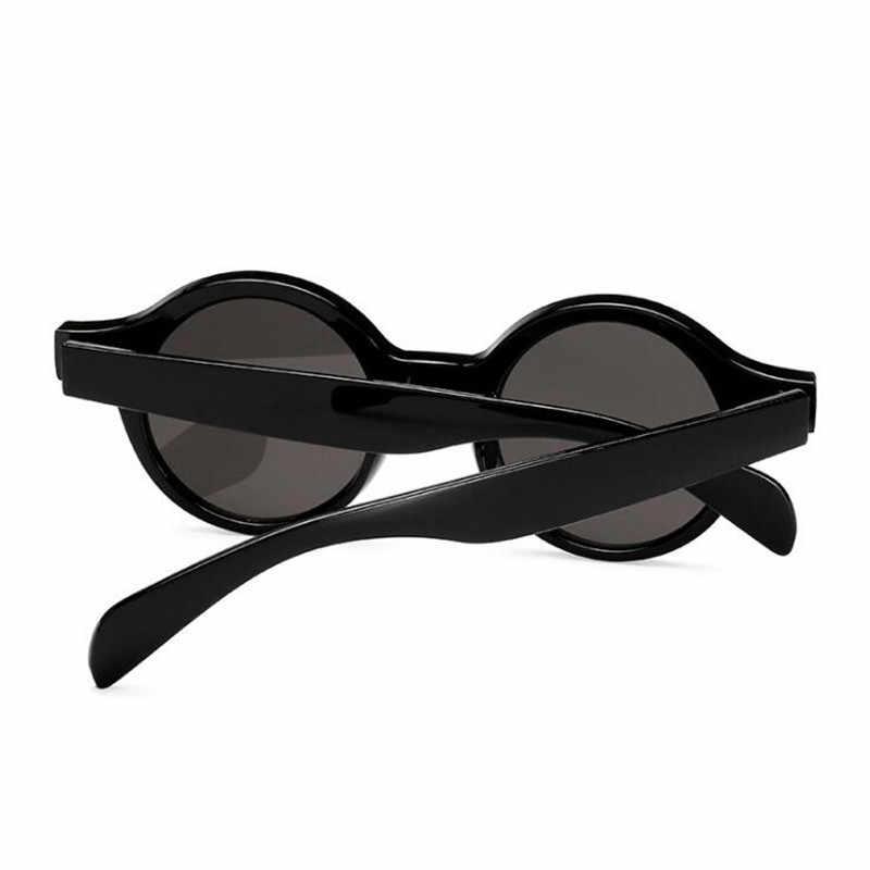 2f91d9c39e ... Round Sunglasses Women Small Round Sun Glasses Men Vintage Brand  Designer Eyeglasses White Red Ladies Sunglass