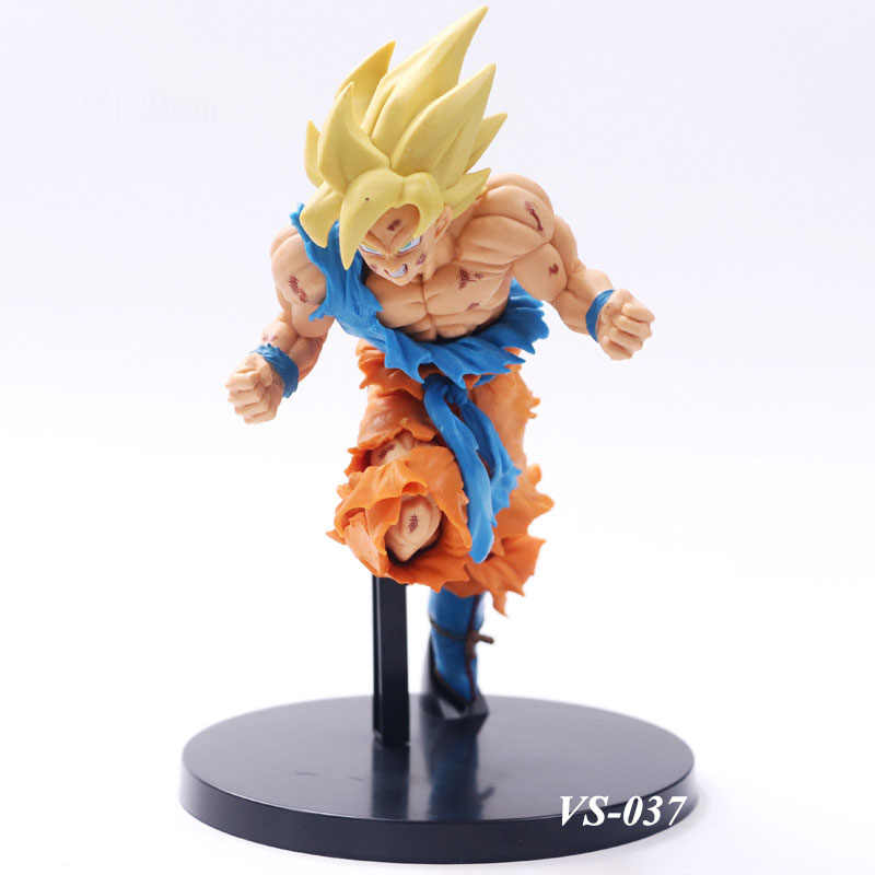 Anime Figura de Ação 50th Anniversary Collecfction Goku De Dragon Ball Z Son Goku PVC Figura Collectible Modelo Brinquedos Presente de Aniversário