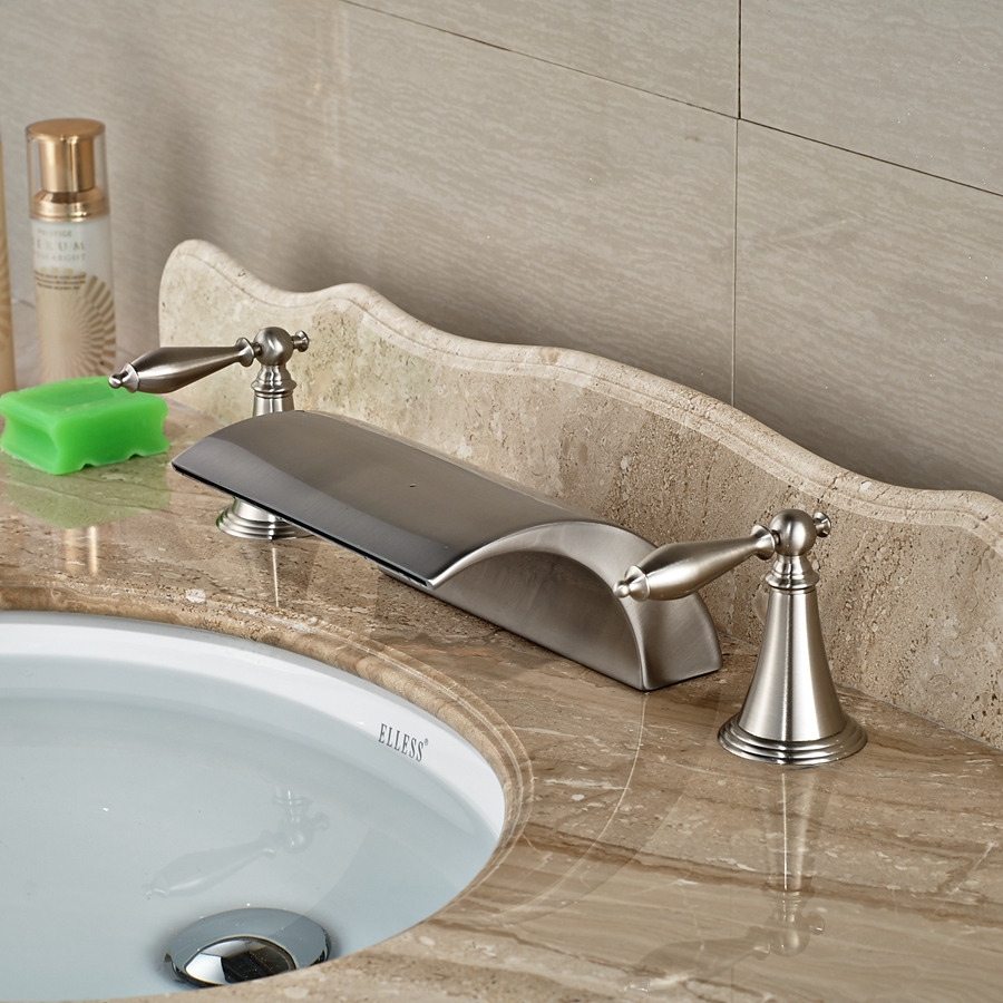 Wholesale And Retail Brand NEW Roman Waterfall Brushed Nickel ...